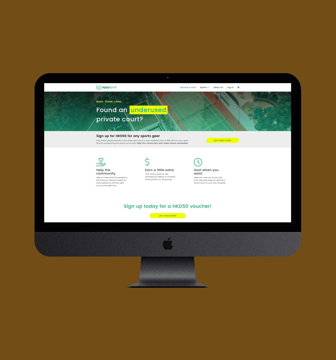 revamped website and UX/UI